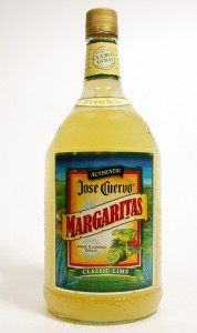 Margarita Mix Jose Cuervo; Mr. & Mrs