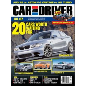 free subscription to car and driver magazine free snatcher. Black Bedroom Furniture Sets. Home Design Ideas