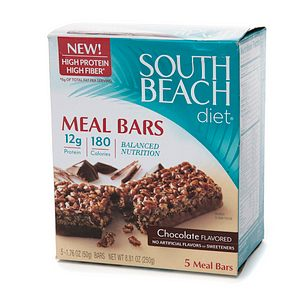 South Beach Diet Meal Bars Coupons
