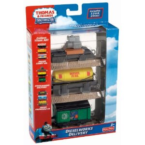 Thomas & Friends Trackmaster Dieselworks Delivery