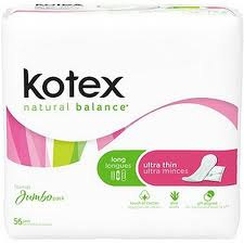 Kotex Natural Balance Coupons