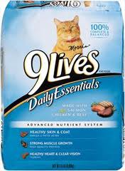 9 Lives Cat Food coupons