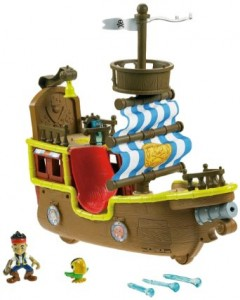fisher price bucky pirate ship