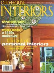 Old House Interiors Magazine