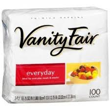 Vanity Fair Napkin Printable Coupon