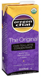 Oregon Chai Printable Coupon