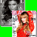 Elle and Glamour Magazines