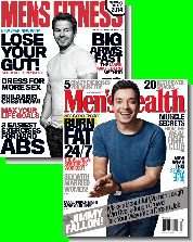 Men's Health and Men's Fitness Magazines
