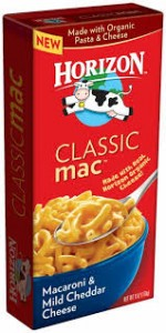 Horizon Mac and Cheese Coupon
