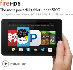 Amazon Fire HD6