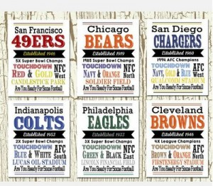 NFL Team Print