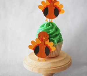 Thanksgiving Cupcake decoration