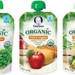 Gerber Organic pouches coupons
