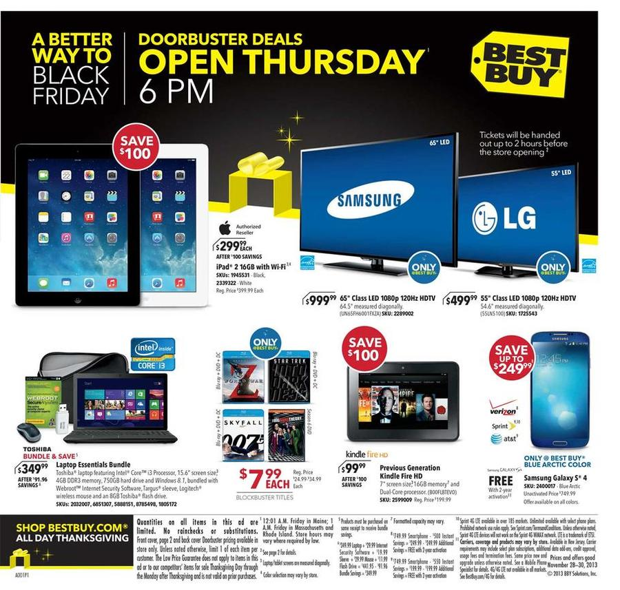 best buy black friday best buy black friday 2013 ad scan and deals 536